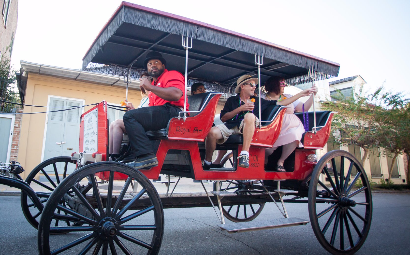 Royal Carriages French Quarter History Carriage Tours of New Orleans