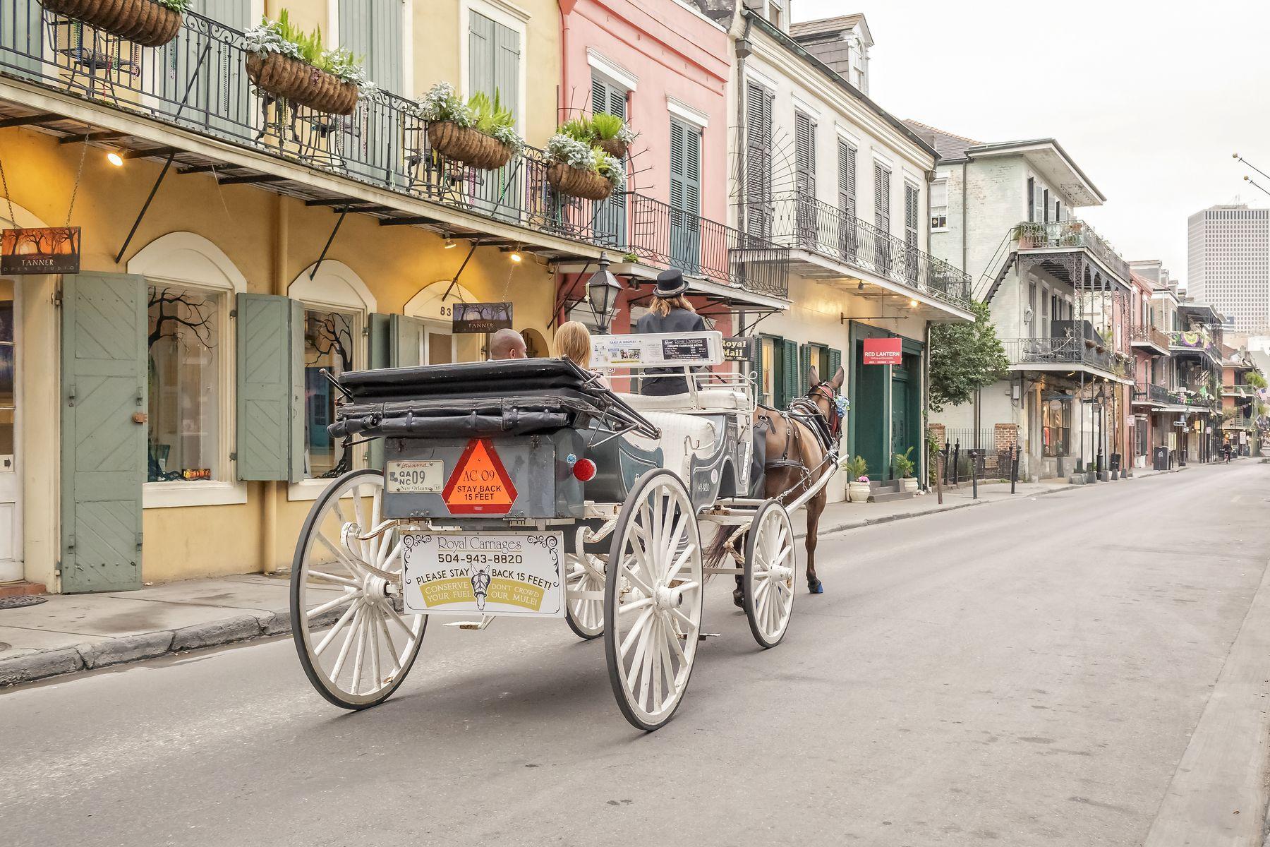 Royal Carriages French Quarter Tour