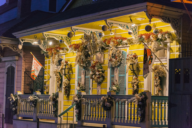 New Orleans Christmas.2016 Best Christmas Decorations In New Orleans